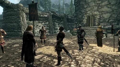 Avant l'exécution - Ulfric et le Général Tulius