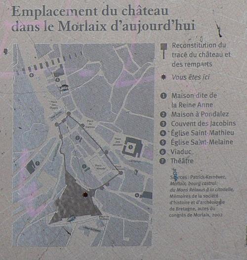 Depuis la place du Château