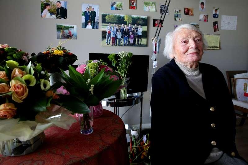 Yvette Lundy, grande figure de la résistance, est morte à 103 ans