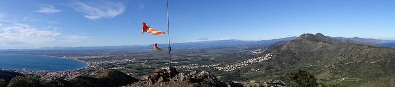 * ROSES Pic de l'Aliga et Castell de Bufalaranya