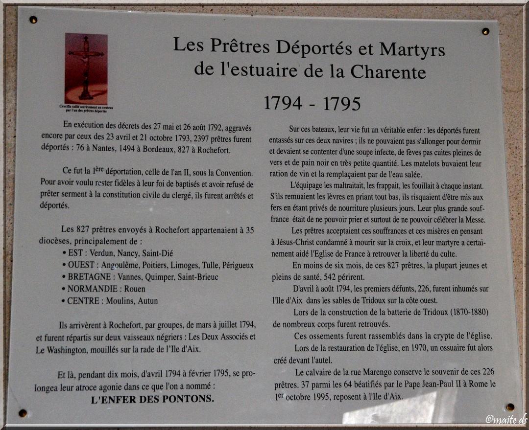Eglise Saint-Martin Île-d'Aix  Charente-Maritime