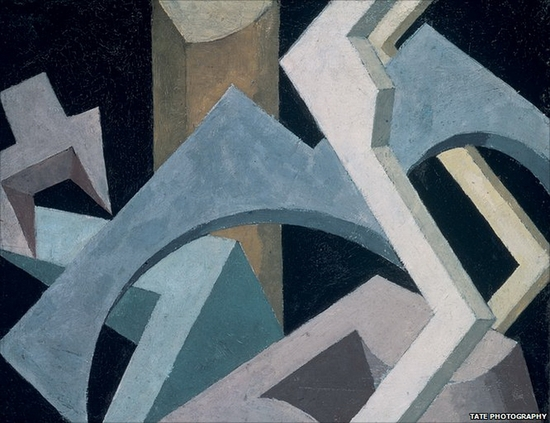 Jessica Dismorr, Composition abstraite, 1915