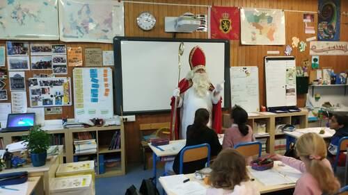 "[Ecole] ""Venez, venez, saint Nicolas..."""
