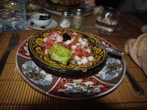 Salade de poulpe, un délice !!!