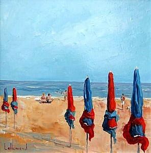 DAniel Allemand parasols a Deauville2