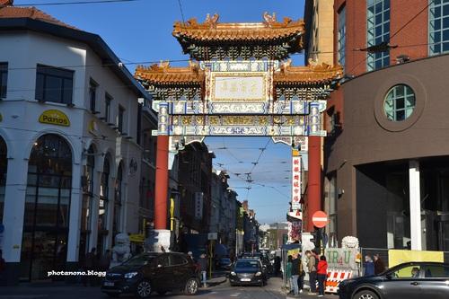 porte chinoise
