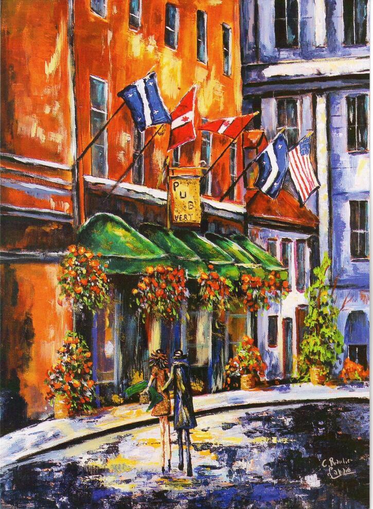 Tableaux-Artistes-Peintres:  Christiane Beaulieu Lahaie