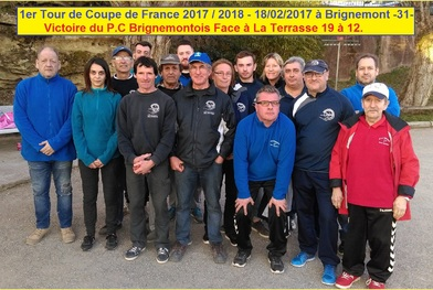 LES TOURS DE LA COUPE DE FRANCE DES CLUBS.