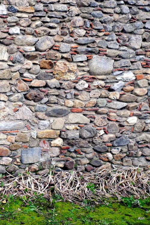 Vieux mur de jardin
