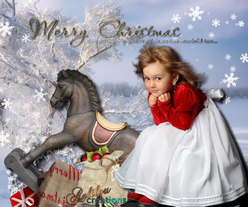 premières créas de Noël