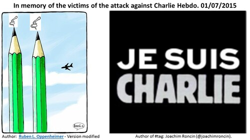 In memory of the victims of the attack against Charlie Hebdo. 01/07/2015