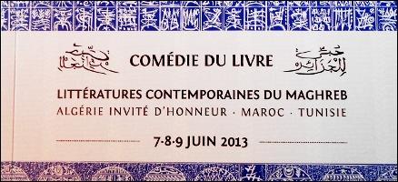 Comédie du Livre 2013