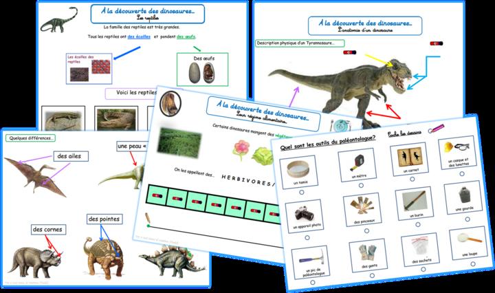 Les dinosaures en maternelle spéciale!