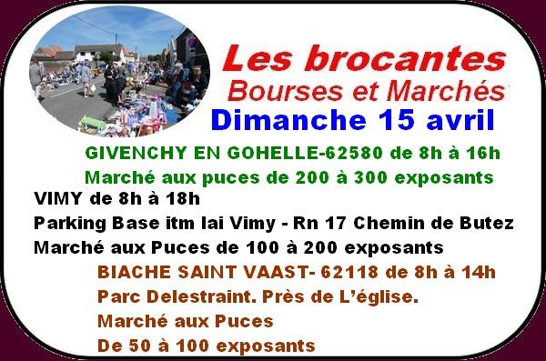 Les loisirs à Arras et ses environs ( brocante, loto, sport ).