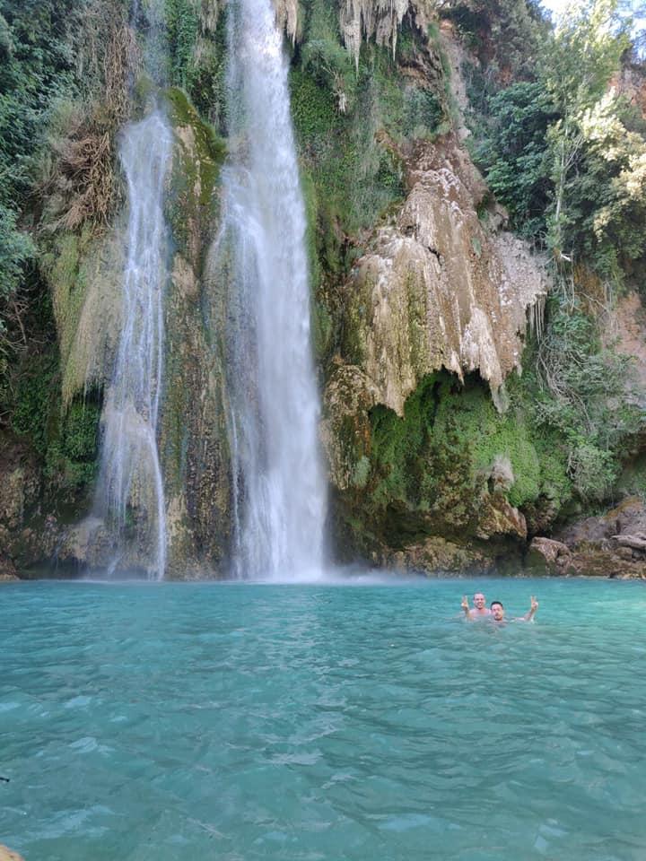 vacances du calobranou suite - nice et sillans la cascade dans le haut var
