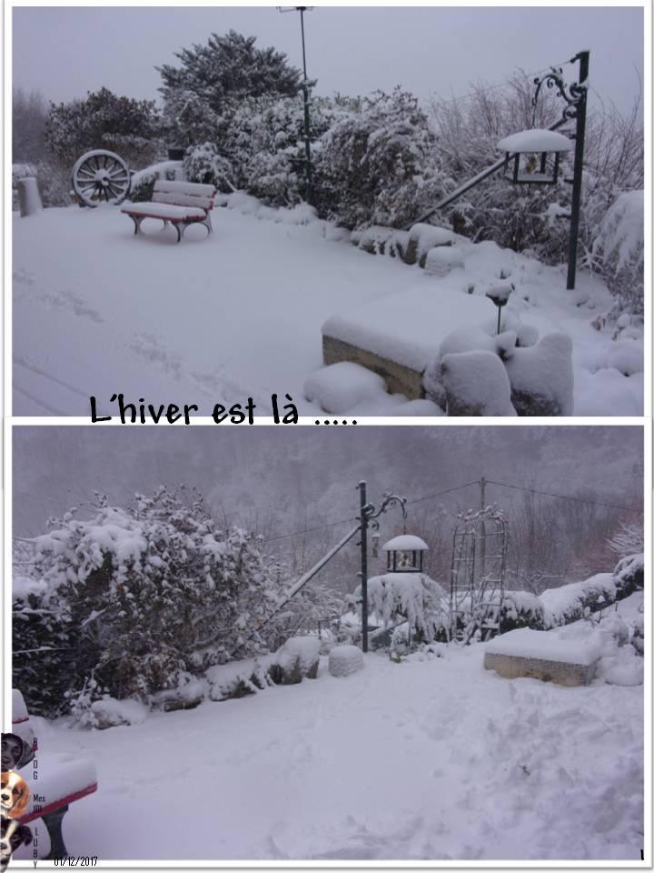 L'hiver est arrivé ... Miss Emy heureuse