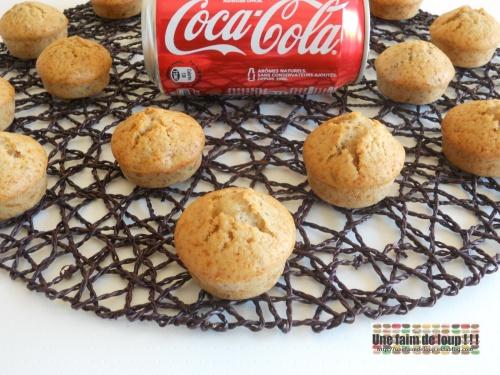 Muffins coca cola & noix de pécan