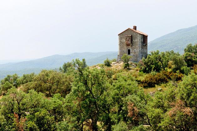 Via Domitia : Le Col du Perthus