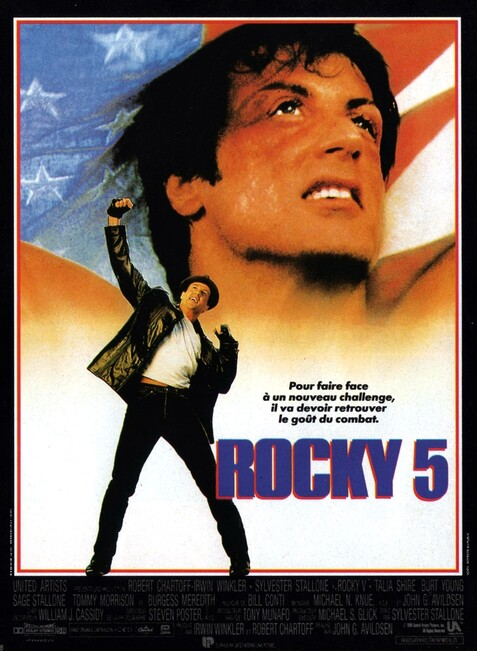 ROCKY 5 - BOX OFFICE SYLVESTER STALLONE 1990