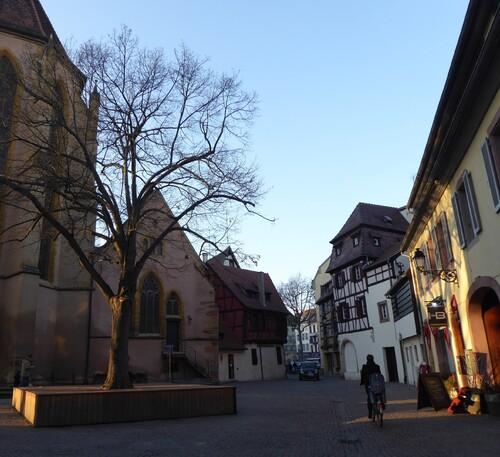 Retour en France à Colmar (1), Alsace, fév 2017