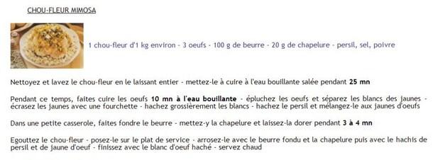 """"""" RECETTES """"  CUISINE  d'HIVER"""""""