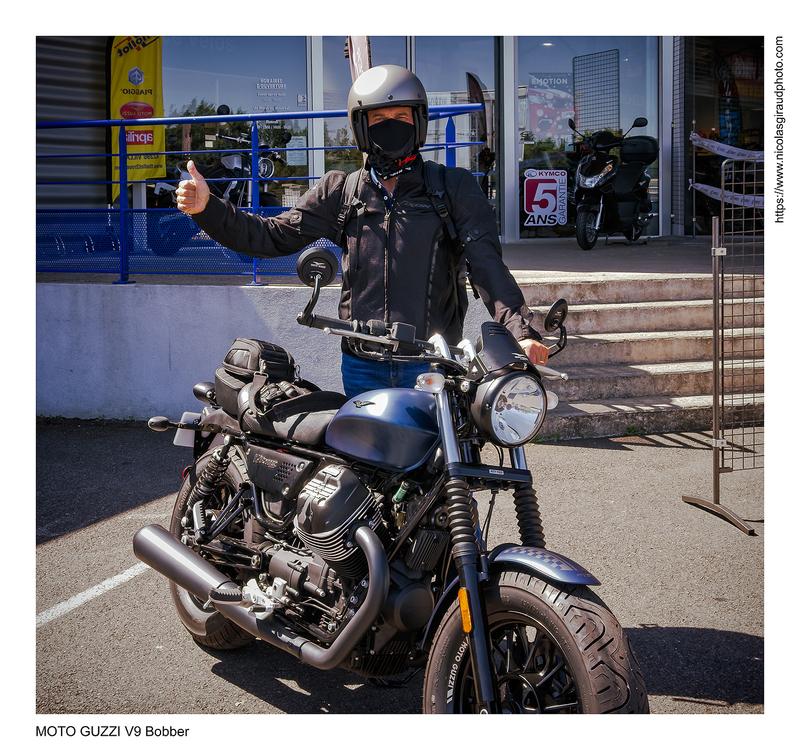 1000 premiers kilomètres en Bobber - MOTO GUZZI V9
