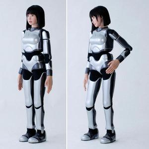 le robot ucroa, futur top model.
