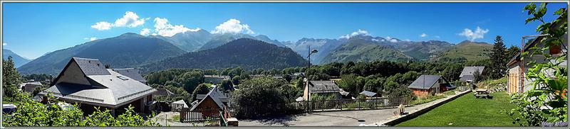 Paysage sur les Pyrénées garonnaises vu de Garin - 31
