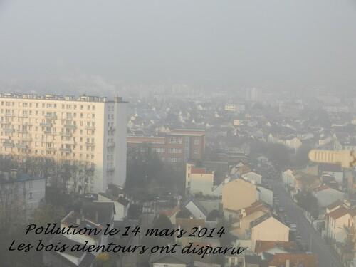 POLLUTION SUR PARIS ET SES ENVIRONS