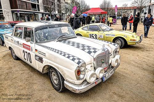 Rallye MONTE CARLO Historique façon H.D.R!
