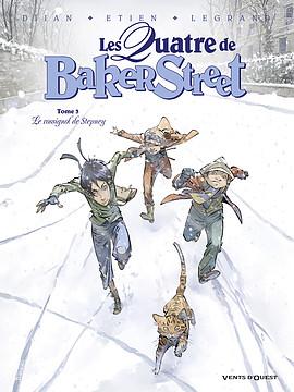 BD - Les quatre de Baker Street : le rossignol de Stepney