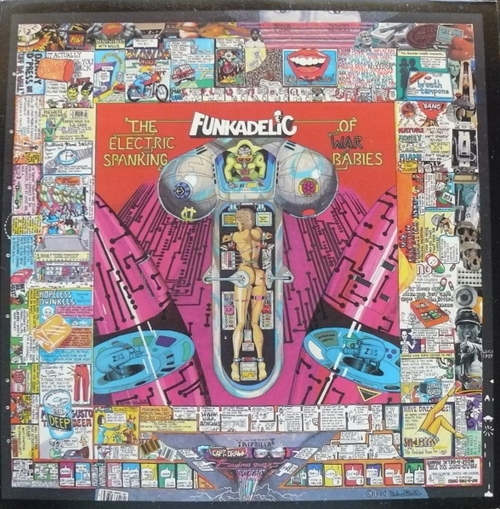 "Funkadelic : Album "" The Electric Spanking Of War Babies "" Warner Bros. Records ‎BSK 3482 [ US ]"