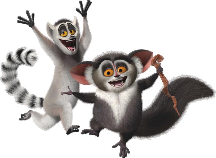 La famille Madagascar
