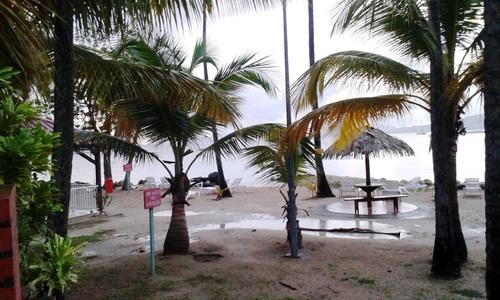 Anse Caritan St-Anne en Martinique
