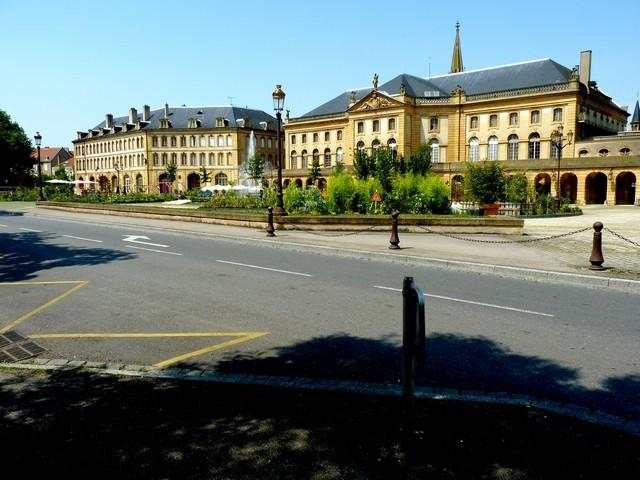Metz un jardin en chantier 2 Marc de Metz 31 07 2012
