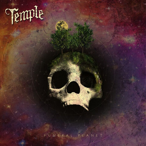 TEMPLE - Détails et extrait du premier album Funeral Planet
