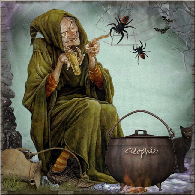 Poésie ecrite et imagée : Halloween