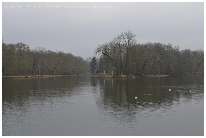 Balade du 11 février 2017 au Parc du Château de Rambouillet