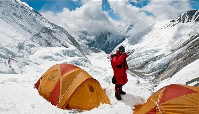 Couronne Solaire Sur L'Himalaya...