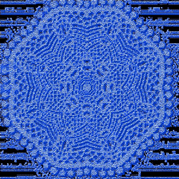 Dentelles bleues 4