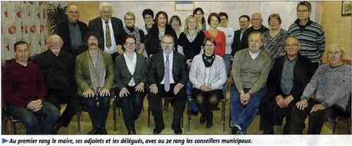 Le conseil municipal 2014