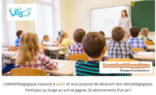 Concours Lea / web pédagogique