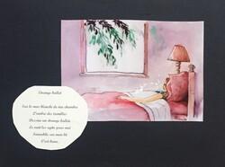 Illustrations de poèmes de Christiane Jallat 2018/2019