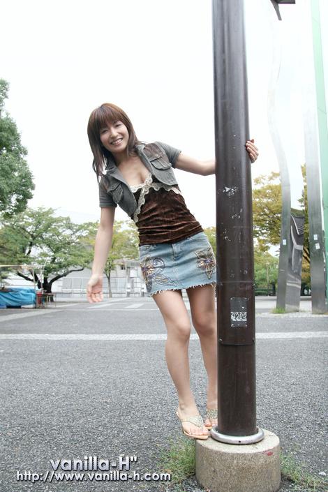 """WEB Gravure : ( [Vanilla-H""""] -   2006.08.14   An Nanba/南波杏 )"""