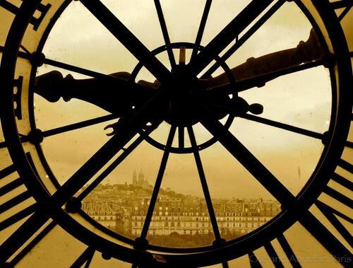 L'Horloge du Quai d'Orsay, par Outanc about Paris