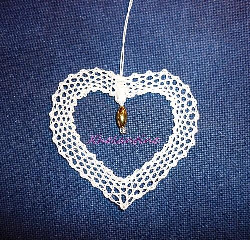 mini coeur en dentelle 1