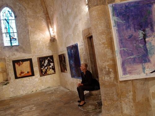 La vie sans failles / Exposition collective à Portbail octobre 2011