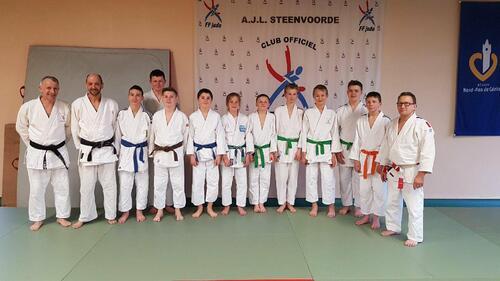 excellents résultats des judokas de Steenvoorde en ce mois de mars.