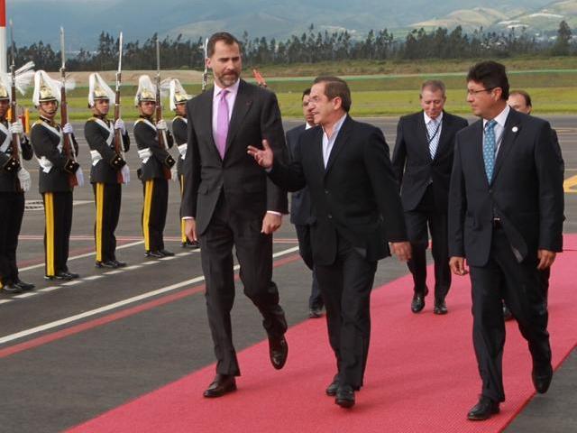Felipe en Equateur