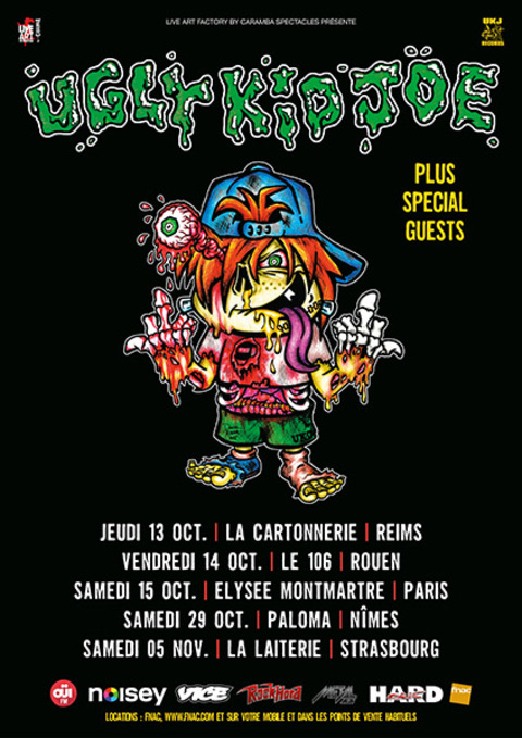 UGLY KID JOE + DALLAS FRASCA - Reims - 13/10/2016